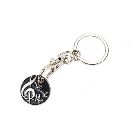 Porte-clés avec pièce de chariot