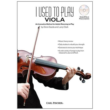 Gazda, D./ Clark, L.:  I Used to Play Viola (+CD)