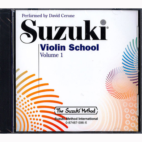 Suzuki Violin School Vol. 1 – CD