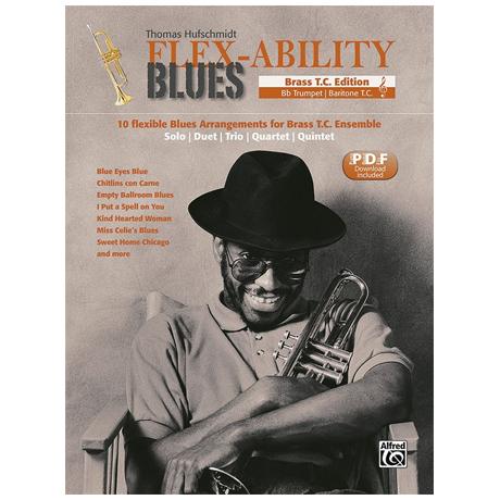 Hufschmidt, T.: Flex-Ability Blues – Brass Violinschlüssel (+PDF Download)