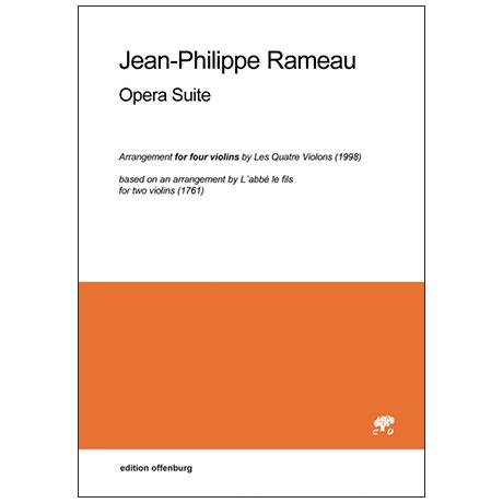 Rameau, J-Ph.: Opera Suite