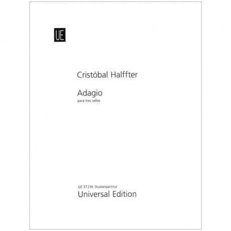 Halffter, C.: Adagio para tres Cellos (2017)