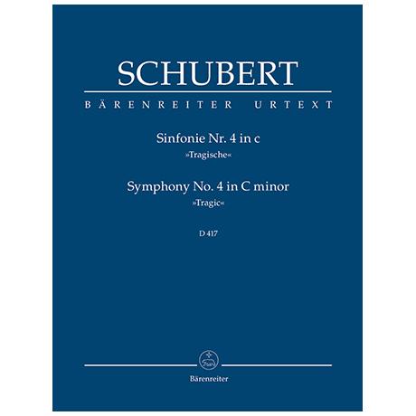 Schubert, F.: Sinfonie Nr. 4 c-Moll D 417 »Tragische«