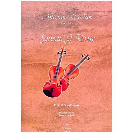 Dvořák, A.: Sonate G-Dur