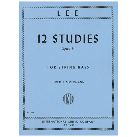 Lee, S.: 12 Studies, Op. 31