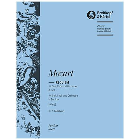 Mozart, W. A.: Requiem d-Moll KV 626