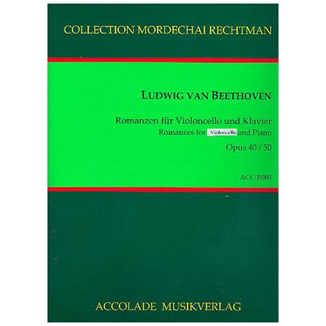 Beethoven, L.: 2 Romanzen Op. 40 & Op. 50