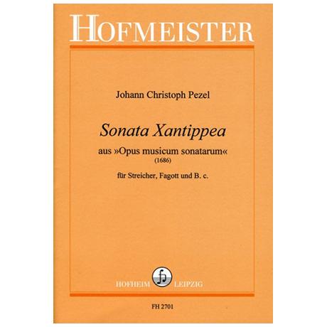 Pezel, J. C.: Sonata Xantippea aus »Opus musicum sonatarum«