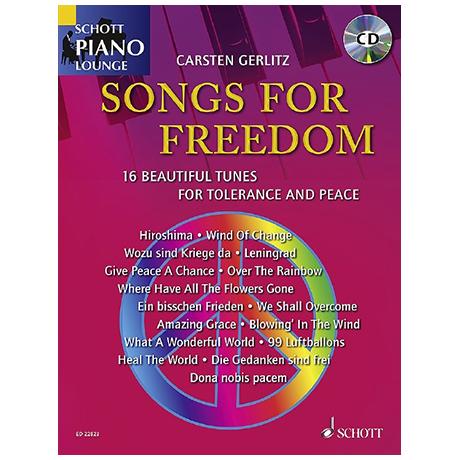 Gerlitz, C.: Songs For Freedom (+CD)