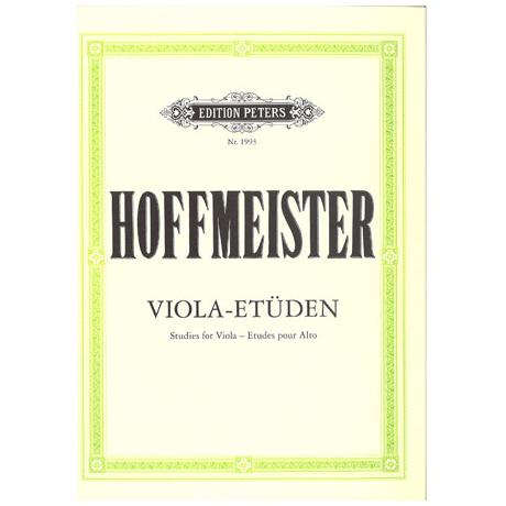 Hoffmeister, F. A.: 12 Etüden