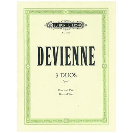 Devienne, F.: 3 Duos Op. 5
