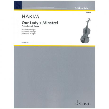 Hakim, N.: Our Lady's Minstrel – Prelude and Dance