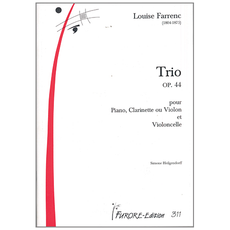 Farrenc, L.: Klaviertrio Op. 44 Es-Dur
