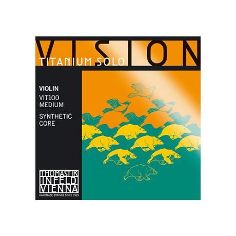 THOMASTIK Vision Titanium SOLO corde violon Mi