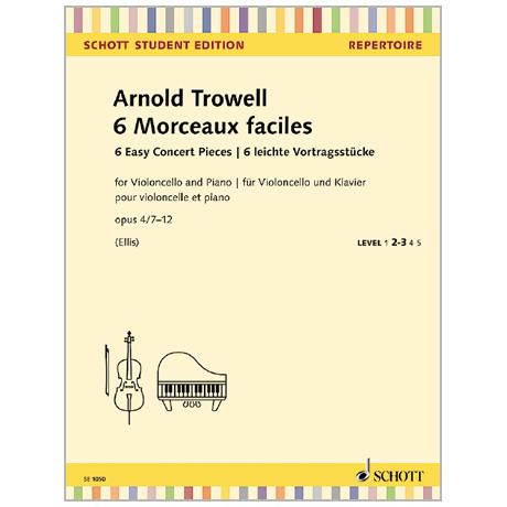 Trowell, A.: 6 leichte Vortragsstücke Op. 4/7-12