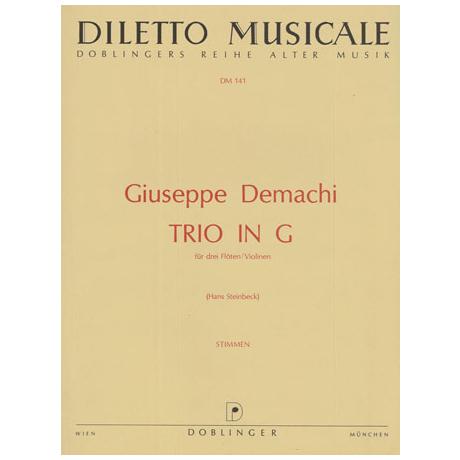 Demachi, G.: Trio G-Dur