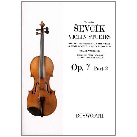 Sevcik, O.: Triller-Vorstudien Op. 7 Heft 2