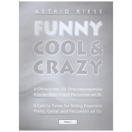 Riese, A.: Funny Cool & Crazy – Violine 1