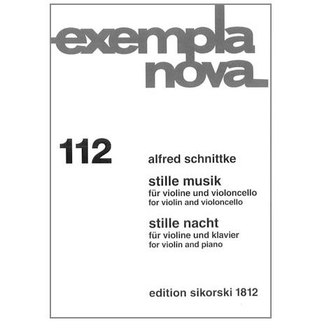 Schnittke, A.: Stille Musik – Stille Nacht