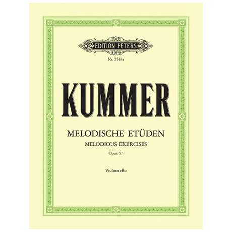 Kummer, F.A.: 10 Melodische Etüden Op. 57