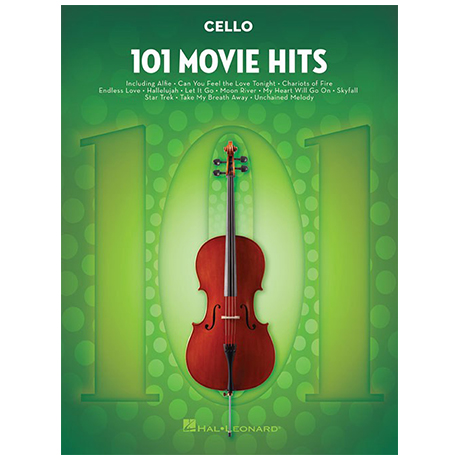 101 Movie Hits for Cello