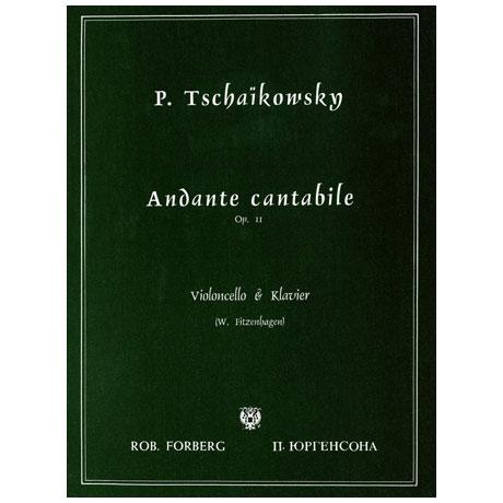 Tschaikowski, P. I.: Andante cantabile Op. 11
