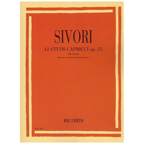 Sivori, C.: 12 Studi-Capricci Op. 25