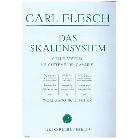 Flesch, C.: Das Skalensystem für Violoncello