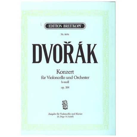 Dvořák, A.: Violoncellokonzert Op. 104 h-Moll