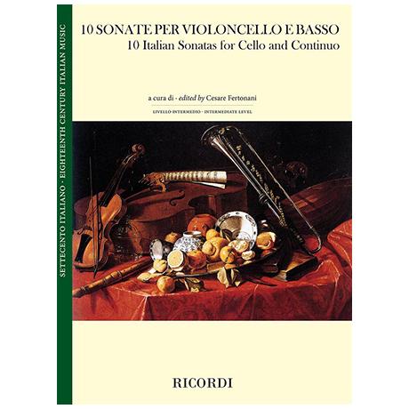 10 Italienische Violoncellosonaten