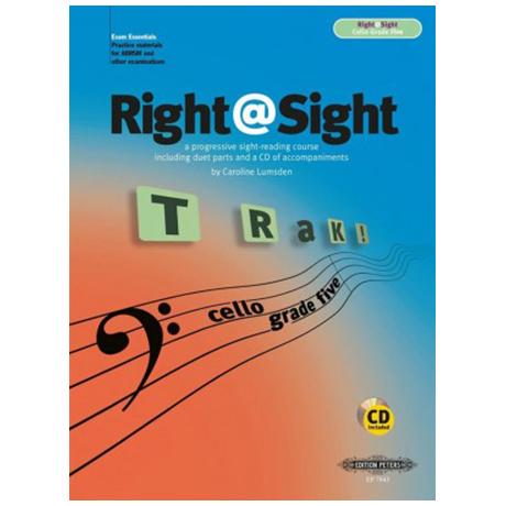 Lumsden, C.: Right@Sight for Cello Grade 5