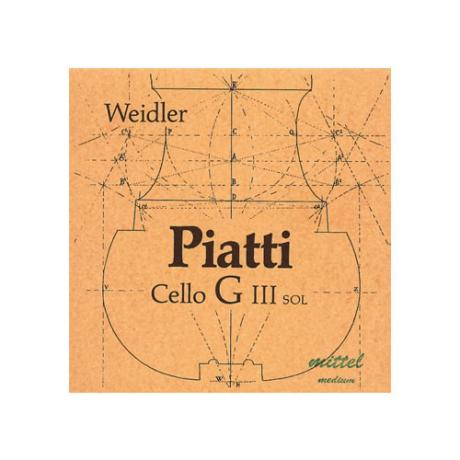 PIATTI corde violoncelle Sol