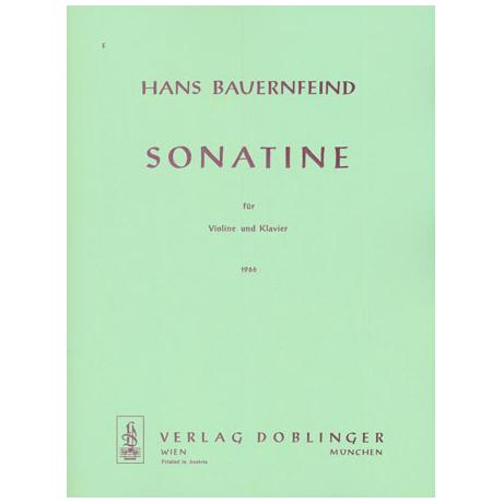 Bauernfeind, H.: Violinsonatine