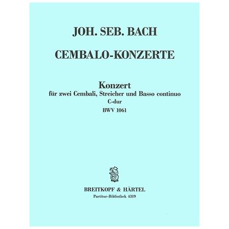 Bach, J. S.: Cembalokonzert c-Moll BWV 1062