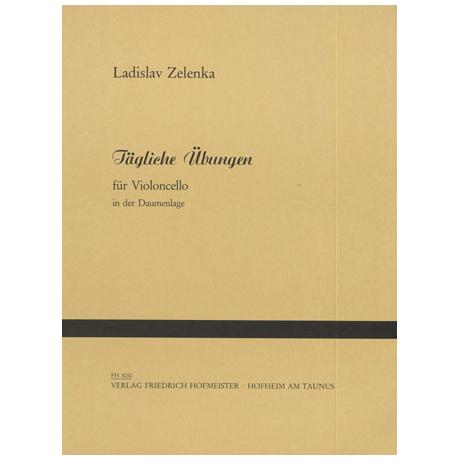 Zelenka, L.: Tägliche Übungen in der Daumenlage