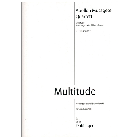Apollon Musagete Quartett: Multitude
