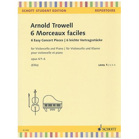Trowell, A.: 6 leichte Vortragsstücke Op. 4/1-6