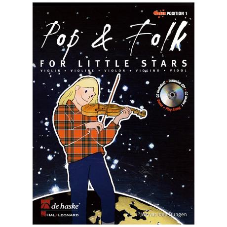 Pop and Folk for little Stars (+CD)
