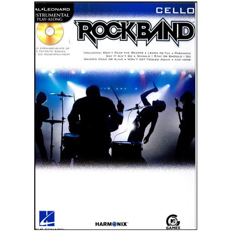 Hal Leonard Playalong: Rockband (Cello)
