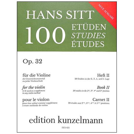Sitt, H.: 100 Etüden Op. 32 Band 2