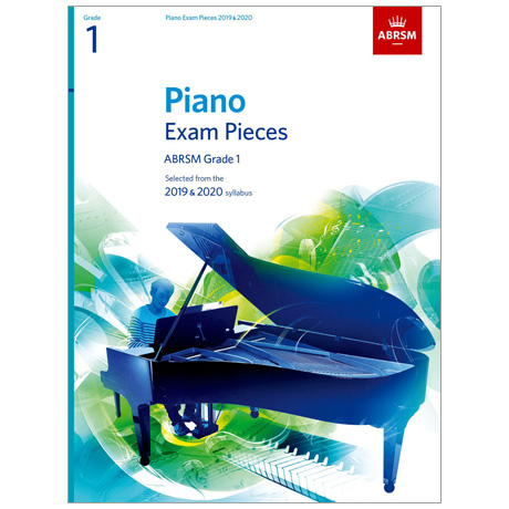 ABRSM: Piano Exam Pieces Grade 1 (2019-2020)