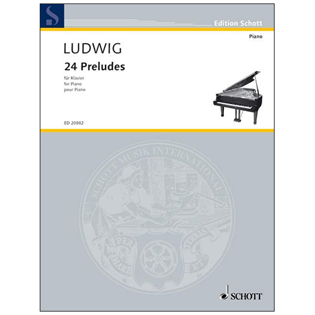 Ludwig, P.: 24 Preludes
