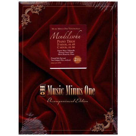 Mendelssohn Bartholdy, F.: Piano Trios Op. 49, Op. 66 (+ 2 CDs)