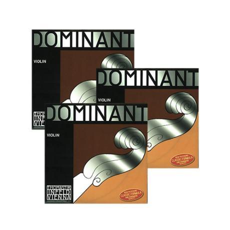 THOMASTIK Dominant cordes violon La-Re-Sol