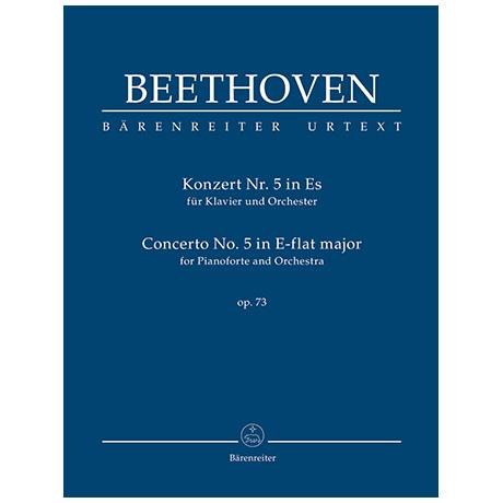 Beethoven, L. v.: Konzert für Klavier und Orchester Nr. 5 Es-Dur Op. 73