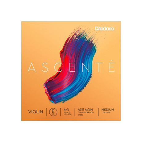 D'ADDARIO Ascenté corde violon Mi