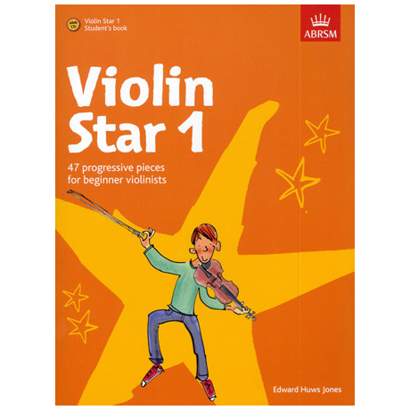 Jones, E. H.: Violin Star 1 (+CD)