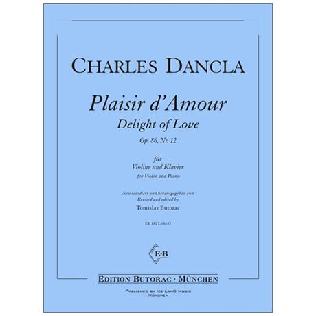Dancla, C.: Plaisir d' Amour Op. 86/12
