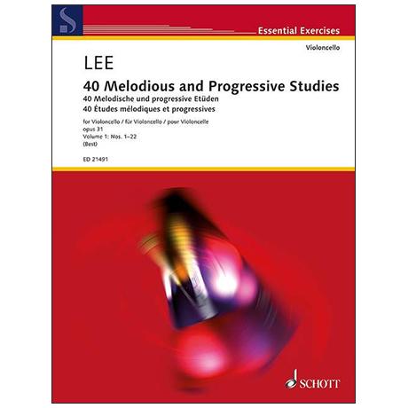 Lee, S.: 40 Études mélodiques et progressives Op.31 Volume 1