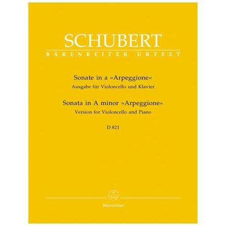 Schubert, F.: Sonate in a 'Arpeggione' a-Moll D 821